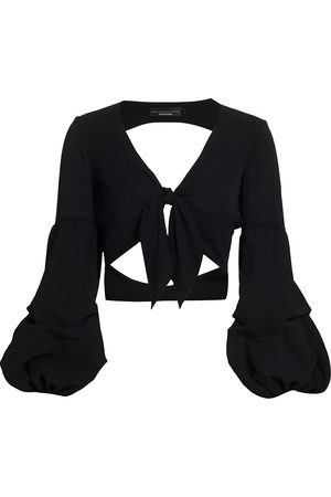 No Pise La Grama Women's Malaga Full Sleeve Cropped Top - - Size Small