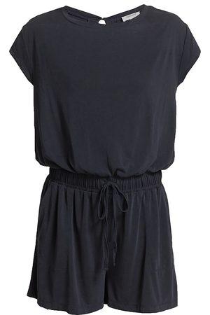 Splendid Women Playsuits - Women's Charli Knit Romper - Navy - Size Large