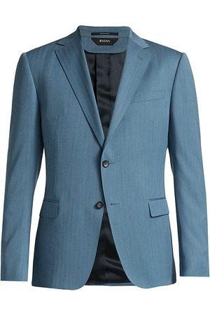 Z Zegna Men's Wool Suit - - Size 48