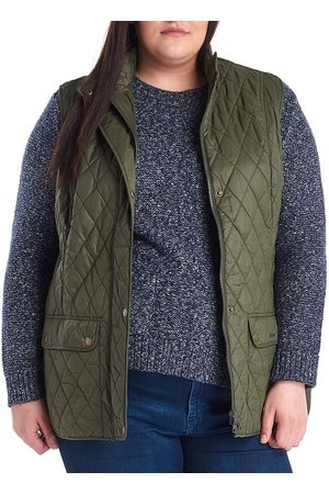 Barbour, Plus Size Women's Must Haves Otterburn Gilet - Olive - Size XXL