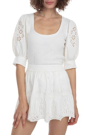 Generation Love Women's Liv Embroidered Top - - Size XL