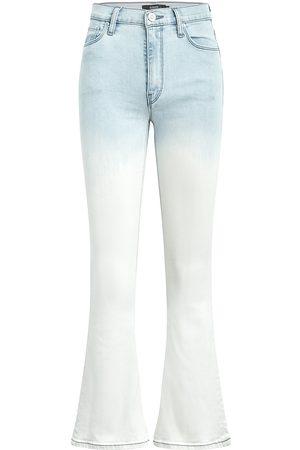 Hudson Women Bootcut - Women's Barbara High-Rise Cropped Bootcut Jeans - Light Beams - Size 30