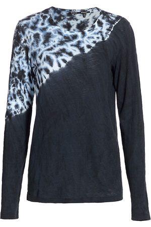 Proenza Schouler Women Long sleeves - Women's Tie-Dye Long Sleeve Top - Tie Dye - Size Large