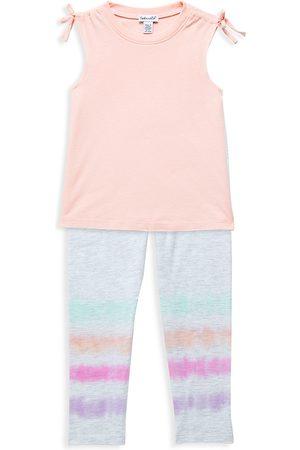 Splendid Baby Girl's 2-Piece Dip Dye Tank Top & Leggings Set - Grey - Size 6 Months