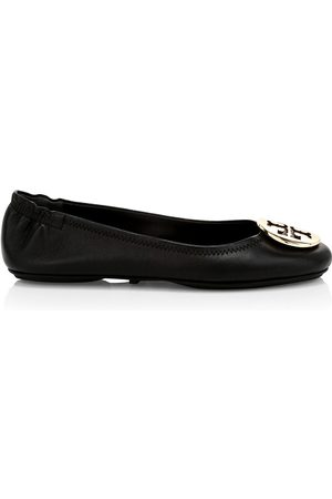 Tory Burch Women's Minnie Leather Ballet Flats - Perfect - Size 9