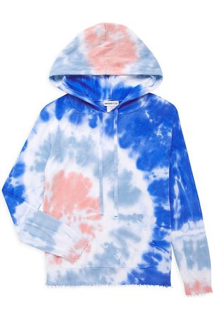 MINNIE ROSE Little Girl's & Girl's Tie-Dye Hoodie - Lilac Combo - Size 8