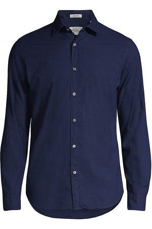 Hartford Men's Sammy Slim-Fit Voile Shirt - Dark - Size Small