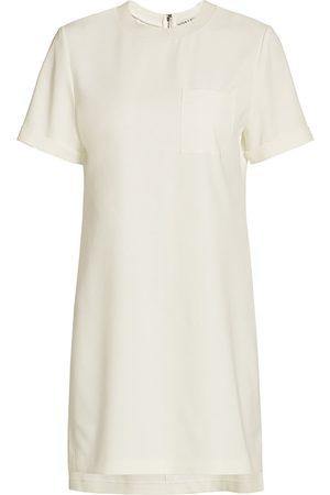 ALICE+OLIVIA Women's Catalina T-Shirt Dress - Off - Size Large