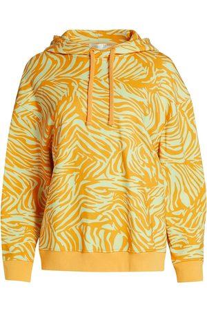 STINE GOYA Women's Joy Adrisa Zebra-Print Hoodie - Zebra - Size Large