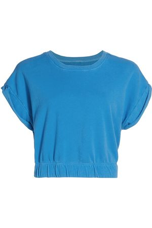 Splits59 Women Sports Hoodies - Women's Franky French Terry Sweatshirt - Persian - Size XS