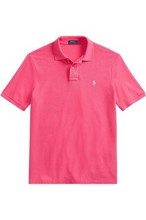 Polo Ralph Lauren Men Polo Shirts - Men's The Iconic Mesh Polo Shirt - Hot - Size Small