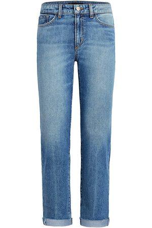 Joes Jeans Women Straight - Women's The Scout Raw Cuffed Jeans - Denali - Size 26