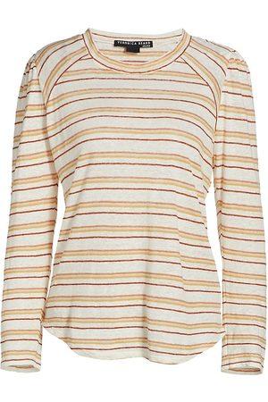 VERONICA BEARD Women Sports T-shirts - Women's Mason Baseball T-Shirt - Size Large