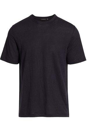 Ermenegildo Zegna Women's Pure Linen T-Shirt - Navy - Size 42