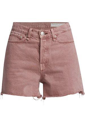 RAG&BONE Women's Maya High-Rise Shorty Shorts - Light Plum - Size 30
