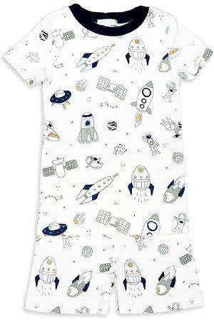Baby Noomie Baby Boy's & Little Boy's 2-Piece Spaceships Short Pajama Set - - Size 5