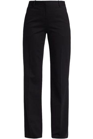 Halston Heritage Women's Gail Italian Knit Trousers - Jet - Size 2