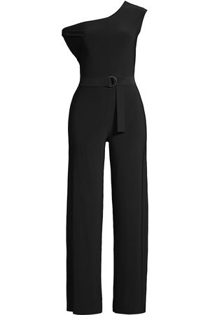 Norma Kamali Women's Drop Shoulder Jumpsuit - - Size Large