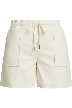N:philanthropy Women's Samy Leatherette High-Rise Shorts - Vintage - Size Large