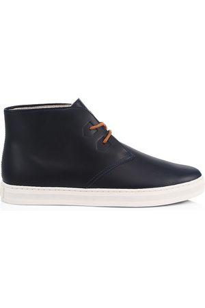sorel Men's Caribou Leather Chukka Boots - Victoria Navy - Size 13