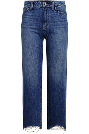 Joes Jeans Women Straight - Women's The Blake Distressed Straight Jeans - - Size 29