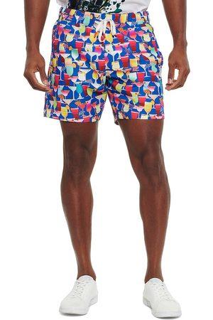 Robert Graham Men's Poolside Drinks Swim Trunks - Size 34