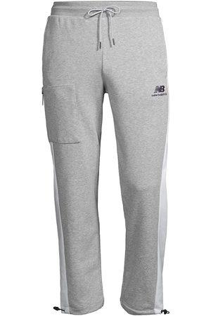 New Balance Men's NB Grey Day Fleece Pants - Grey - Size XXL