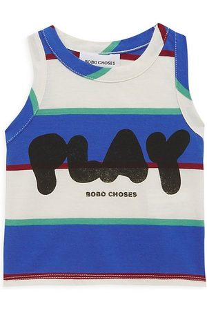 Bobo Choses Baby Girl's Play Stripes Tank Top - Size 18 Months