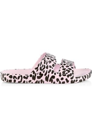 Freedom Moses Women's Wildcat Sands Two-Strap Slides - Wildcat Sa - Size 4 Sandals