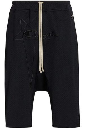 Rick Owens Men's x Champion Swingers Mesh Shorts - - Size Medium