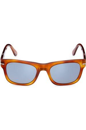 Persol Men's 50MM Square Sunglasses - Terra Disiena