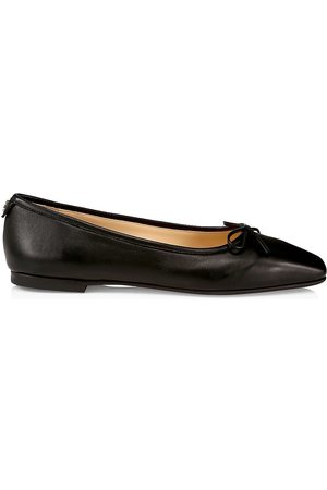 Jimmy Choo Women's Shay Leather Ballet Flats - - Size 12