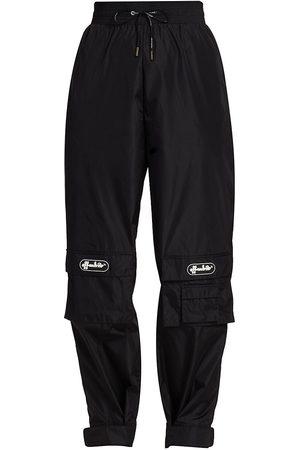 OFF-WHITE Women's Nylon Cargo Pants - - Size 6