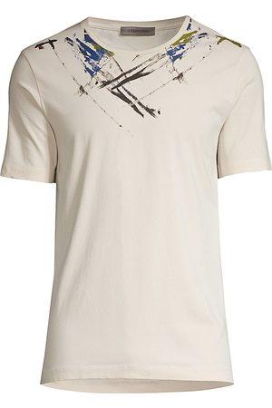 corneliani Men's Tie Dye T-Shirt - - Size 48