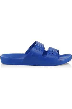 Freedom Moses Women's Two-Strap Slides - - Size 10 Sandals
