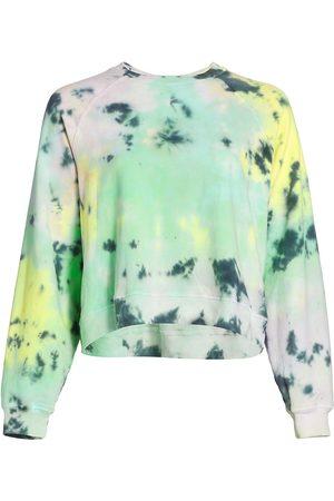 Electric & Rose Women's Ronan Tie-Dye Pullover Sweater - Opal Lavender Glow - Size Small