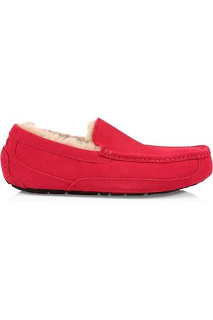 UGG Men's Men's Ascot Suede pure-Lined Slippers - Samba - Size 13