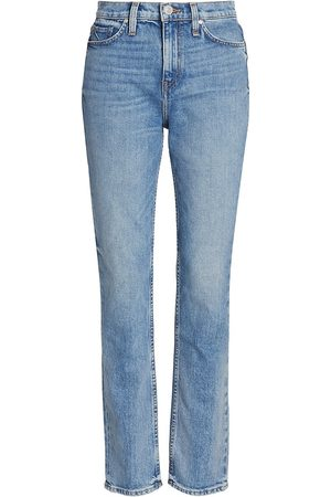Hudson Women High Waisted - Women's Holly High-Rise Straight Jeans - - Size 30
