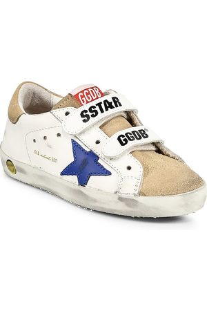 Golden Goose School Shoes - Baby's, Little Kid's & Kid's Old School Leather Sneakers - - Size 1.5 (Child)
