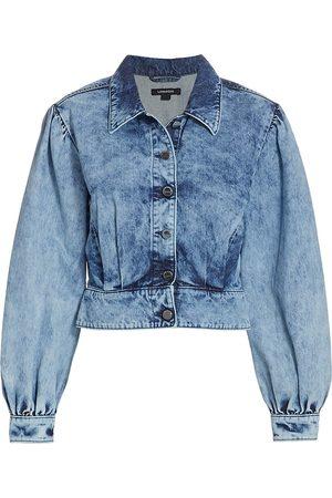 LaMarque Women Denim Jackets - Women's Kumi Acid Wash Denim Jacket - Acid Wash - Size Small