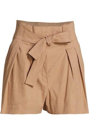 A.L.C. Women Sports Shorts - Women's Joelle Paperbag Shorts - Dulce - Size 12