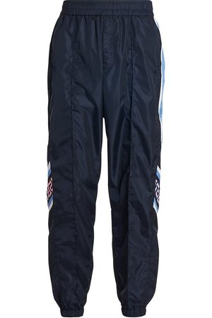VERSACE Men Sweatpants - Men's Nylon Track Pants - Multi - Size 30