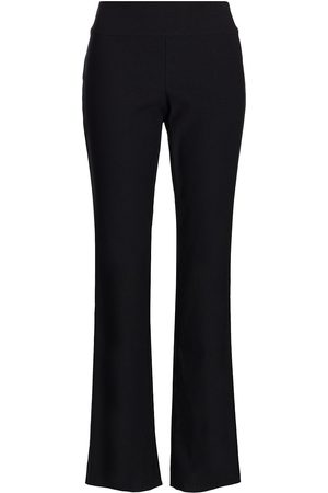 NIC+ZOE, Petites Women's Wonderstretch Bootleg Pants - Onyx - Size 10