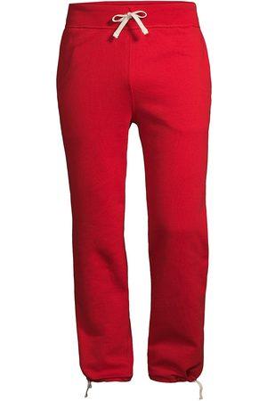 Polo Ralph Lauren Men's Fleece Drawstring Cuff Sweatpants - - Size XS