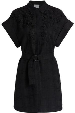 Acler Women's Sierra Self-Belt Shirtdress - - Size 6