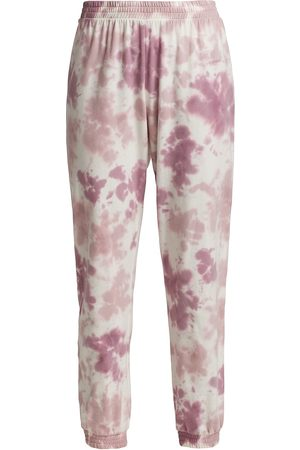 SKIN Women Sweatpants - Women's Emile Tie Dye Joggers - Cedar Rose - Size Small