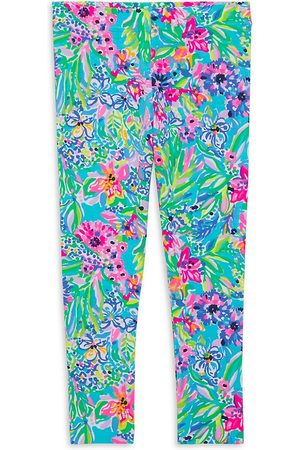 Lilly Pulitzer Girl's Maia Printed Leggings - Size 4