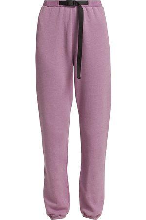 JOHN ELLIOTT Women's Belted Vintage Fleece Sweatpants - - Size Small