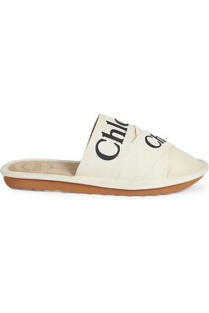 Chloé Women's Woody Suede Slippers - - Size 11