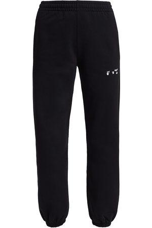 OFF-WHITE Women Skinny Pants - Women's Logo Slim Sweatpants - - Size XS